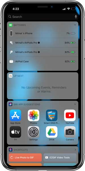 How to Check Airpods Pro Battery Level on Any Devices?