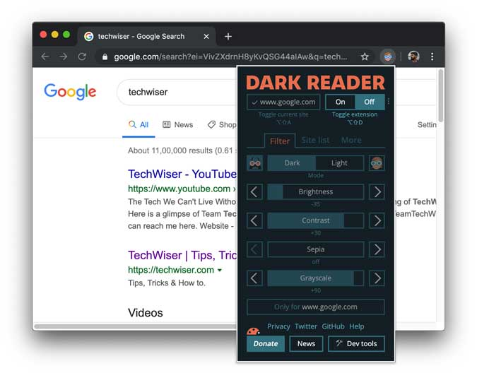 How to Enable Dark Mode on the Chrome Browser?