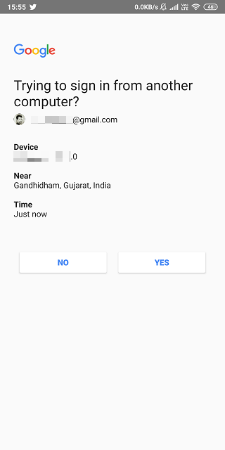 How to Use Android Phone to Verify Google Sign in on iOS Using 2SV