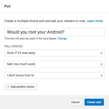 How to Make a Poll on YouTube Channel