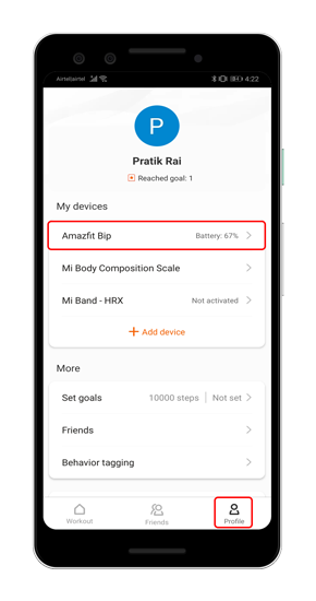How to Control the Camera and Music Player With Amazfit Bip