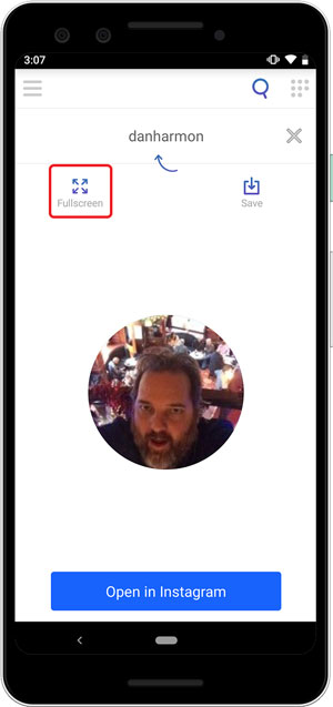 How to Enlarge Instagram Profile Picture of Strangers Following You?