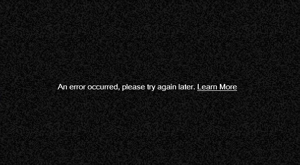 How to Solve an Error Occurred Please Try Again Later on YouTube