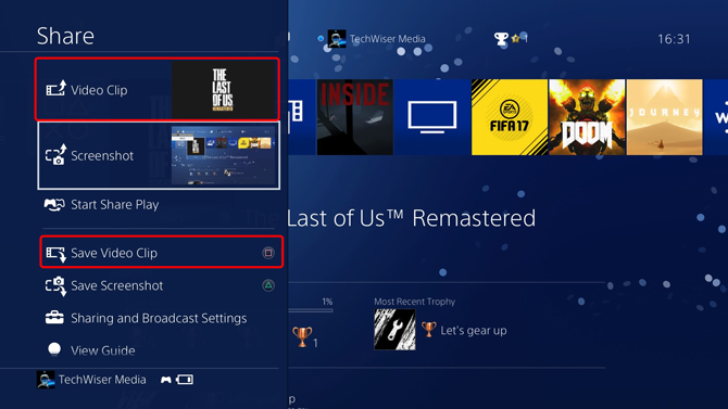 How to Record Gameplay on PS4