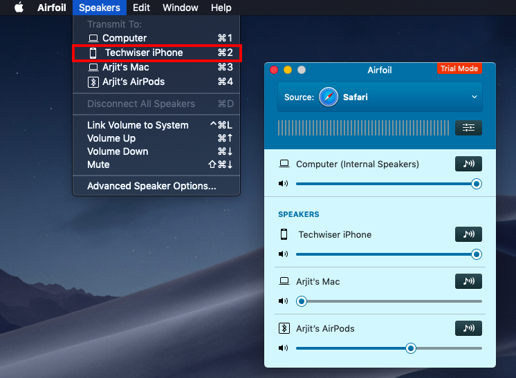 How to Use iPhone as Speaker For Mac