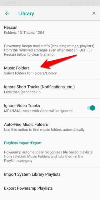 How to Hide Audio Files in Android Music Player Apps