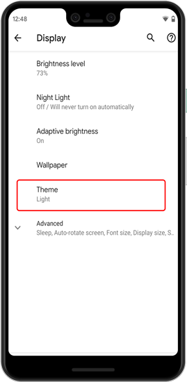 How to Enable Dark Mode in Android 10