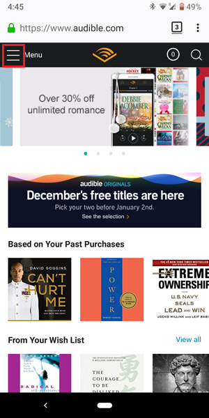 How to Cancel Audible Subscription on App