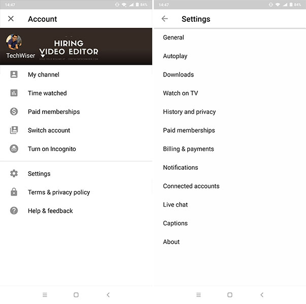 Here is How to Enable Dark Mode on YouTube Android App