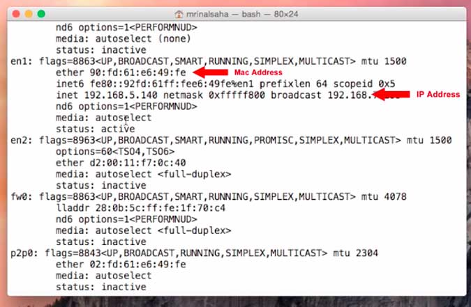 How to Find and Change MAC Address