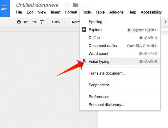 Automatically Transcribe YouTube Video/Audio with Google Docs