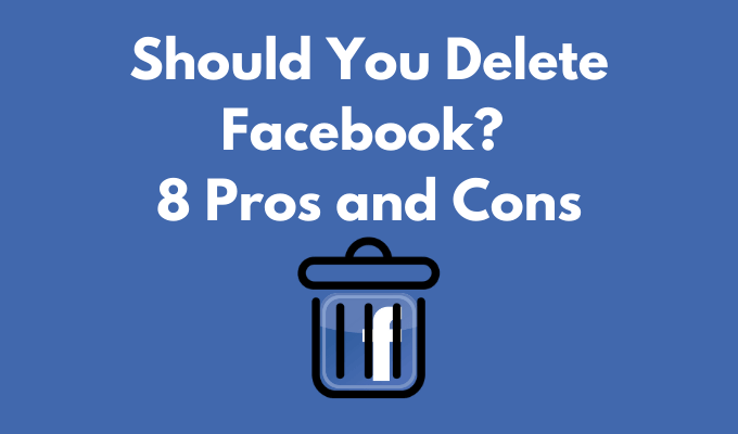 Do you uninstall / delete Facebook? 8 Occupation or coincidence