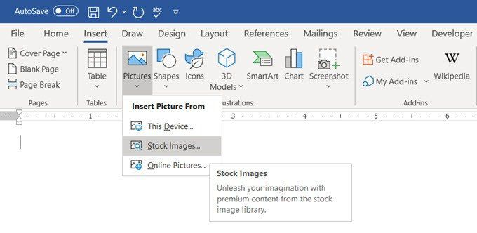 How to make a postcard in MS Word