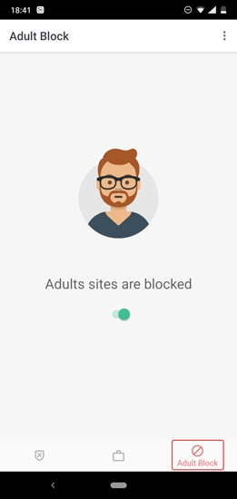 how to completely block adult sites on my phone