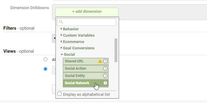 what is secondary dimension and metric in google analytics