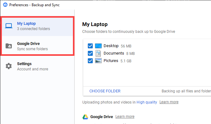 How to fix google backup and sync not signed