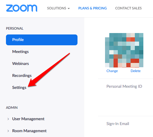 Raising your hand in a Zoom meeting