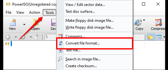 How to Convert IMG Files to ISO 2021