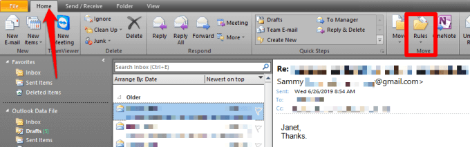 How to Forward Outlook Emails to google mail
