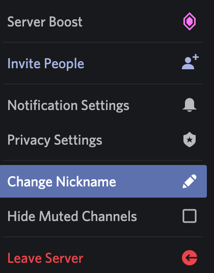 How to Change Your Nickname on a Discord Server