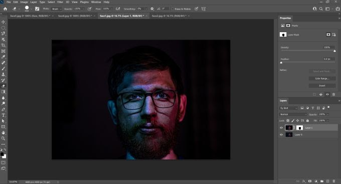 How to face swap in photoshop 2020