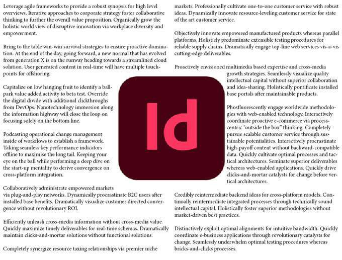 How do I Flow Text Around an Image in InDesign