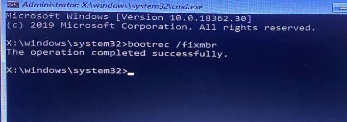 Your Windows 10 PC Did Not Start Correctly 2021